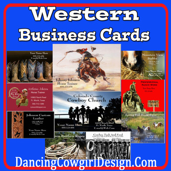 western business cards