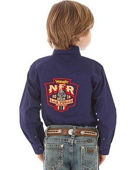 kids PBR bull riding western  shirt