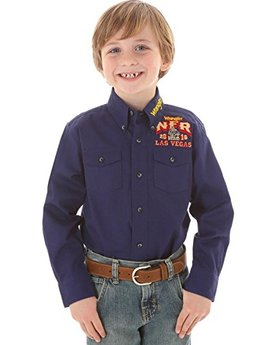 boys western NFR rodeo shirt