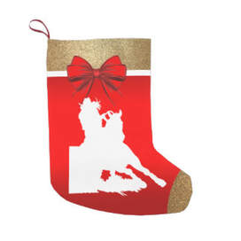 rodeo cowgirl barrel racing Christmas stocking