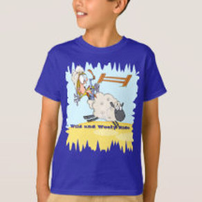 mutton bustin' shirt