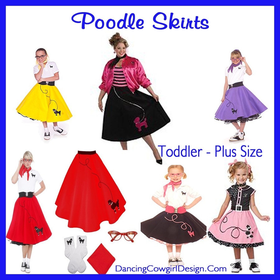 3-4 One Color California Costumes 50/'s Poodle Cutie Toddler Costume