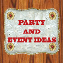 party IDEAS BY DANCING COWGIRL DESIGN