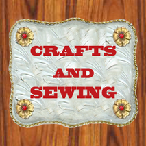 crafts and sewing DANCING COWGIRL DESIGN