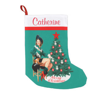 cowgirl Christmas stocking